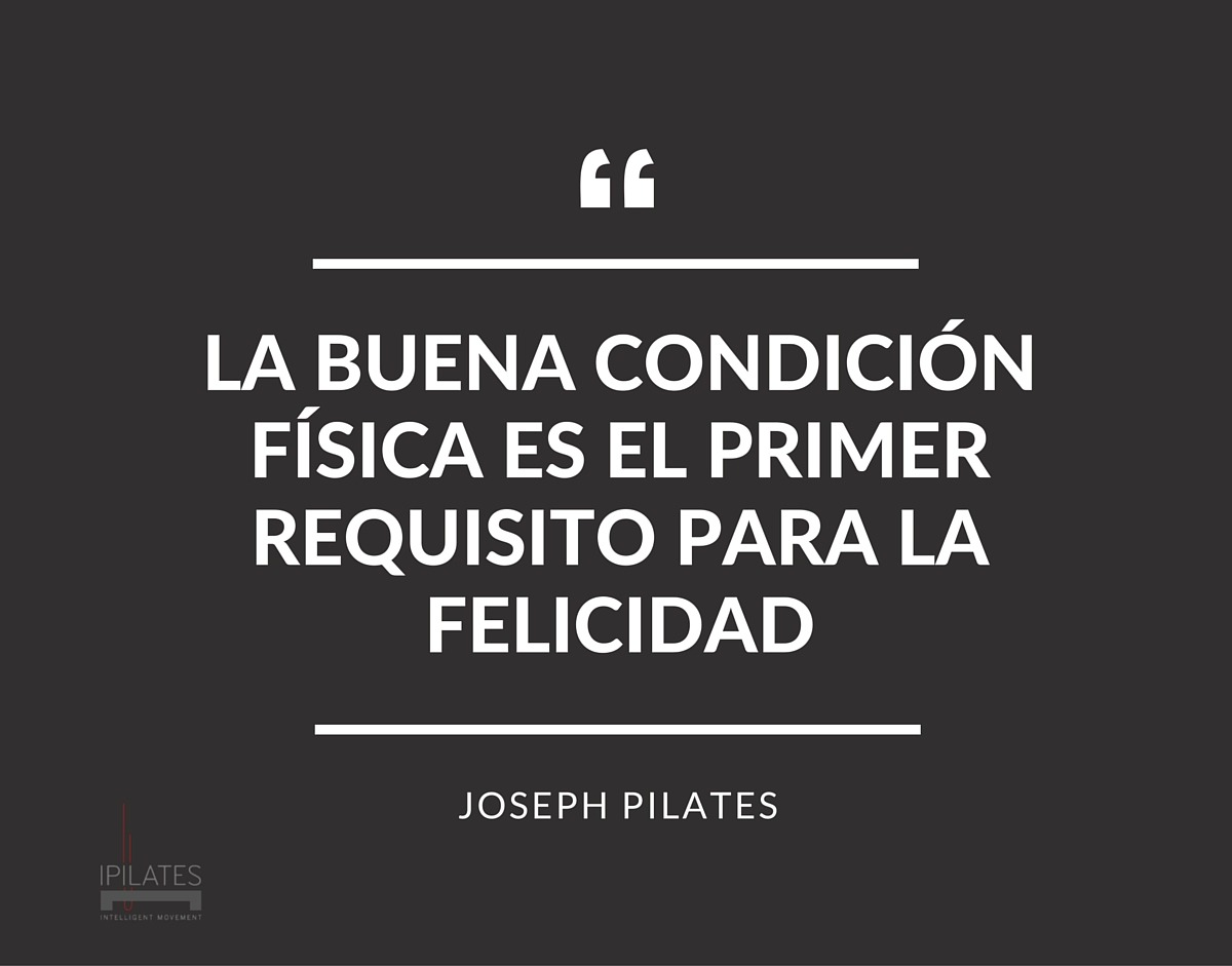 Cita de Joseph H. Pilates_Tenerife