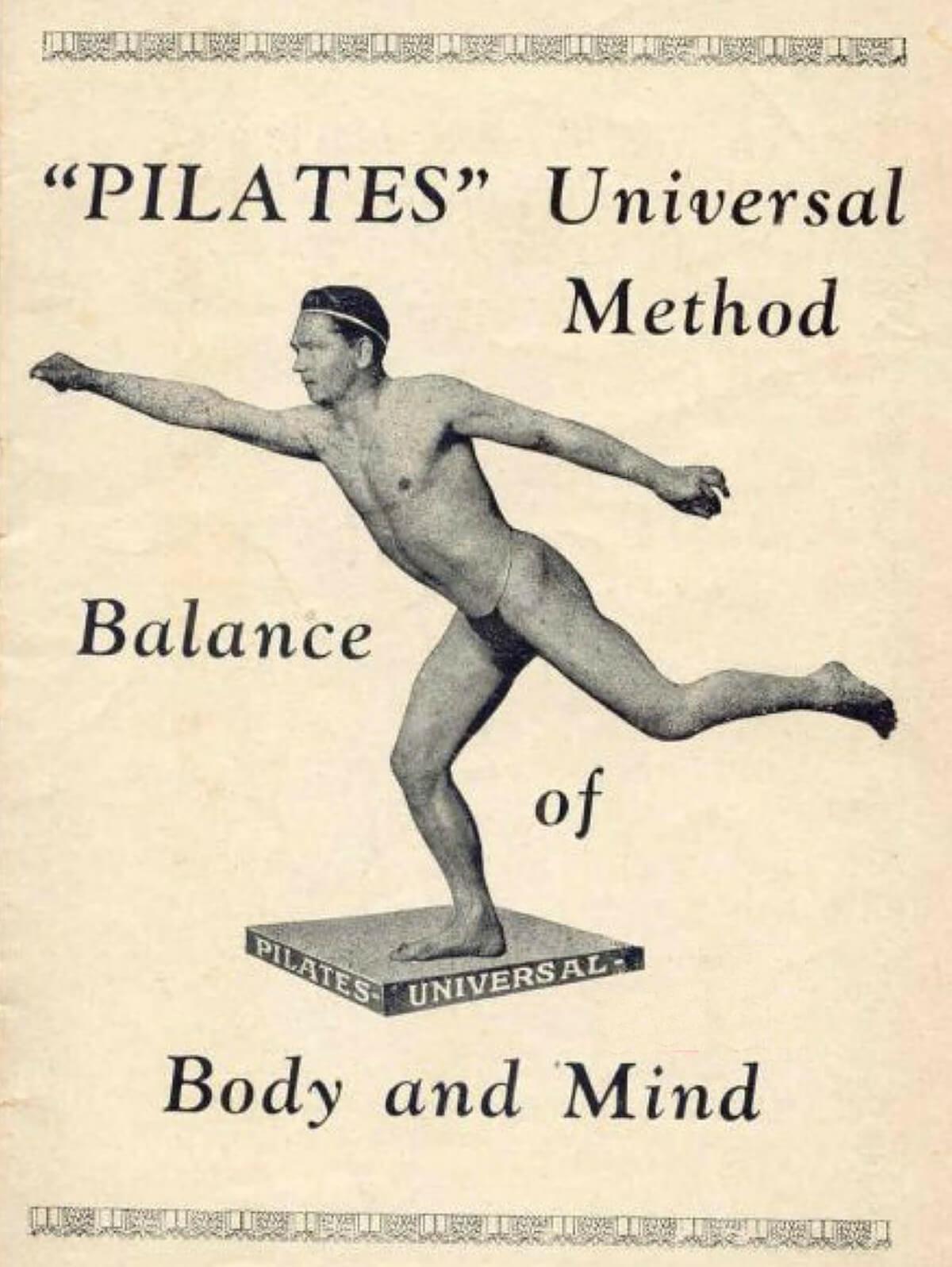 Folleto de Pilates